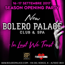 INAUGURAZIONE DEL NEW BOLERO PALACE CLUB & SPA