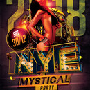 New Year`s Eve Mystical Party