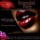SCANDAL PARTY WITH DJ FISHMANTA