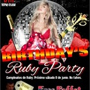 RUBY PARTY BIRTHDAY´S