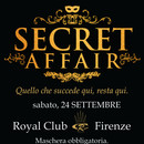 SECRET AFFAIR maschera obligatoria