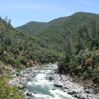 South Yuba River near French Corral Creek